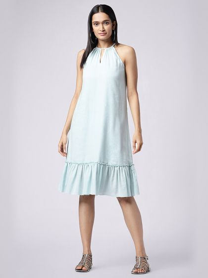 Sweet Frill Gather Dress