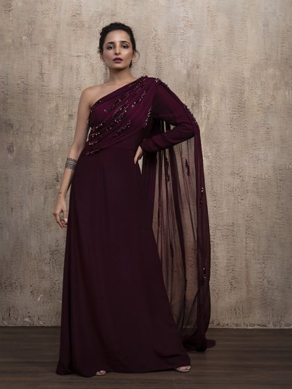 Delicious Wine Gown